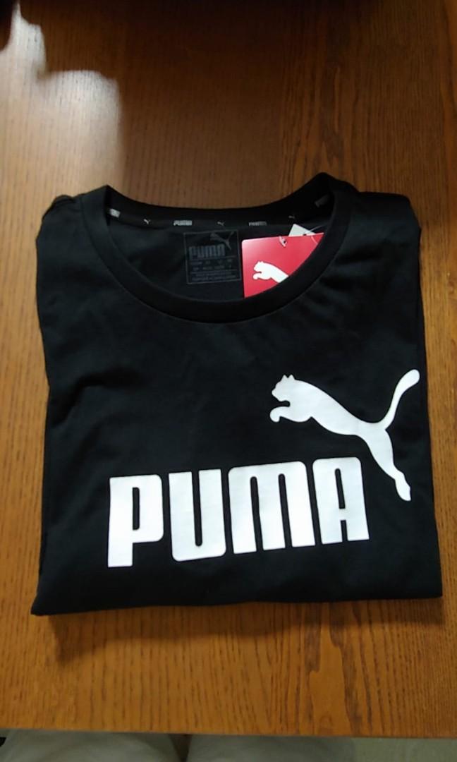 2356d85f66f BNWT Puma ESS Tee, Men's Fashion, Clothes, Tops on Carousell