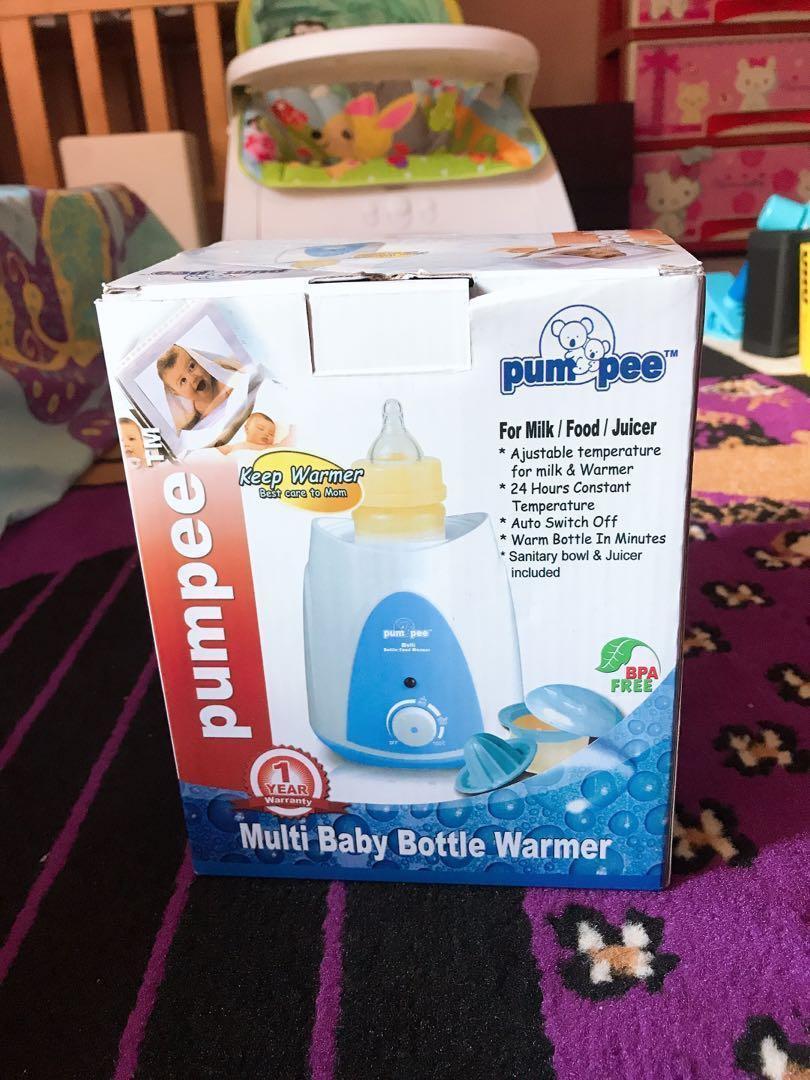 Bottle warmer pumpee / penghangat botol