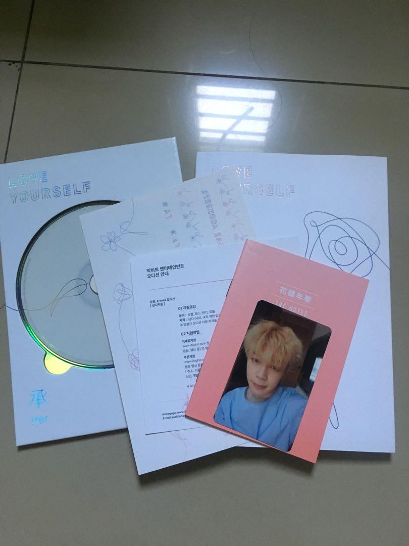 BTS Love Yourself versi L pc Park Jimin + keyring ls bts (—poster)
