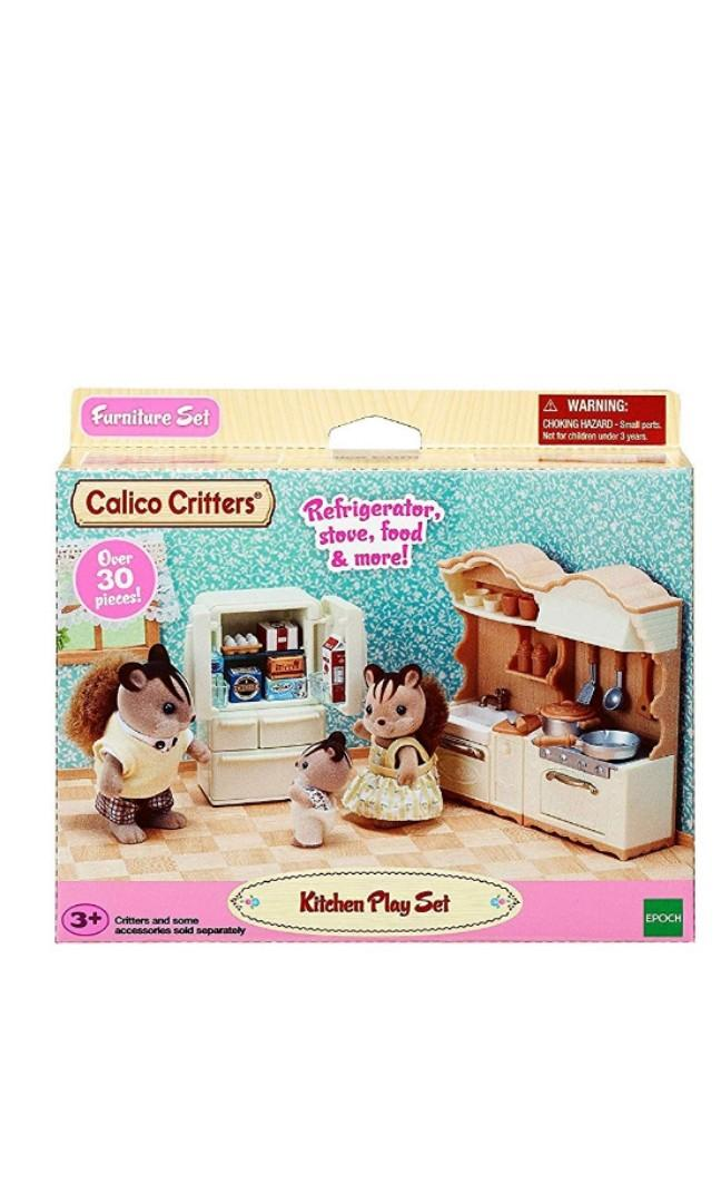 Calico critters kitchen playset -offer