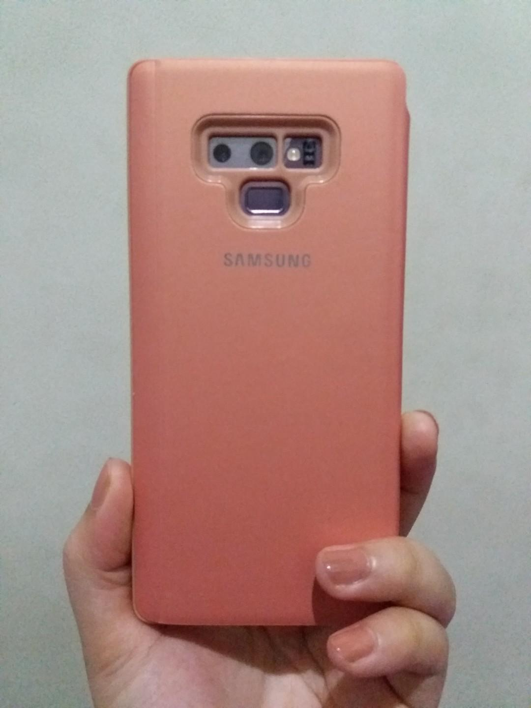 Case Clear View Standing Cover Samsung Note 9