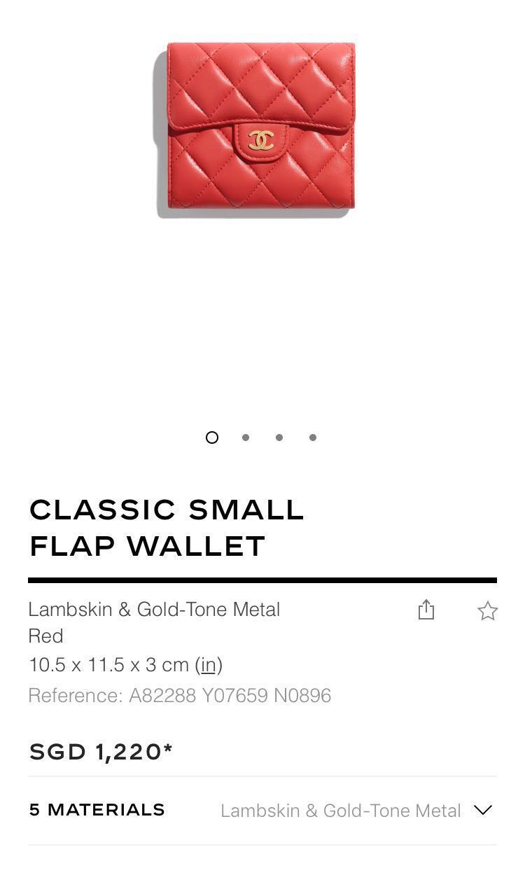 76f4af59f5 Chanel wallet in caviar leather GHW, Luxury, Bags & Wallets, Wallets ...