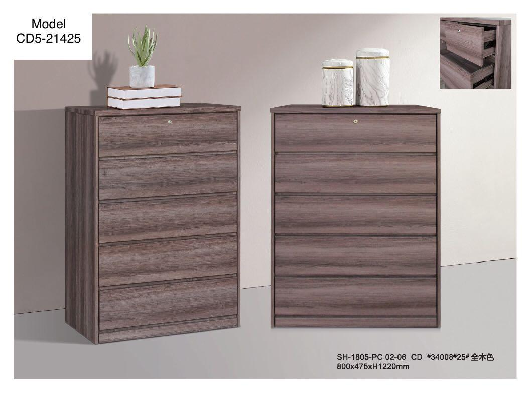 Chest Of Drawers (Walnut)
