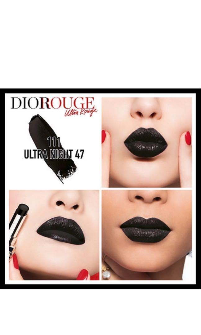 Dior Rouge Dior ultra Rouge Lipstick in 111 Ultra Night