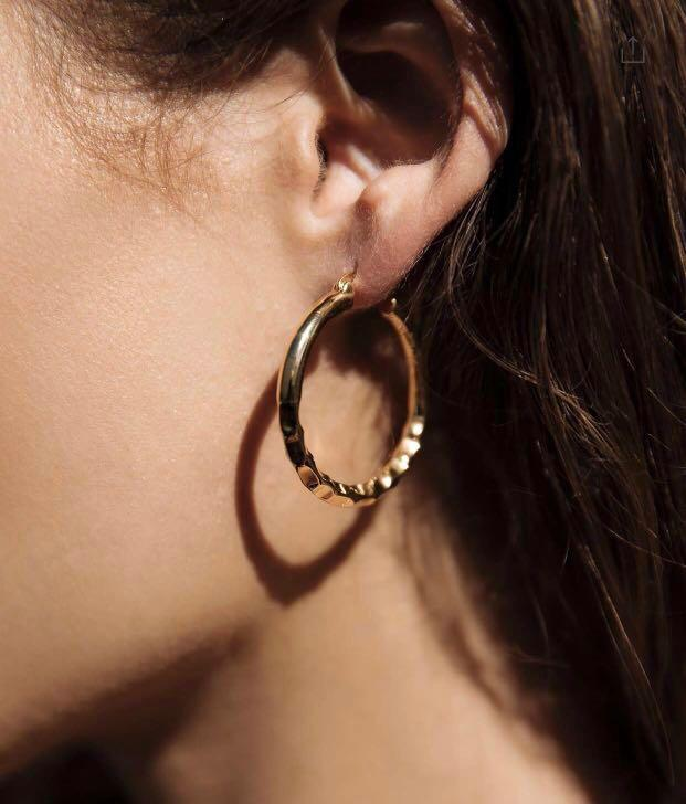 Easy Ride Hammered Hoops 35mm