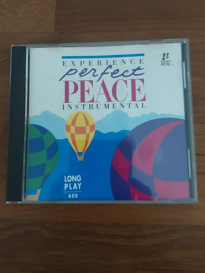 Experience Perfect Peace Instrumental CD