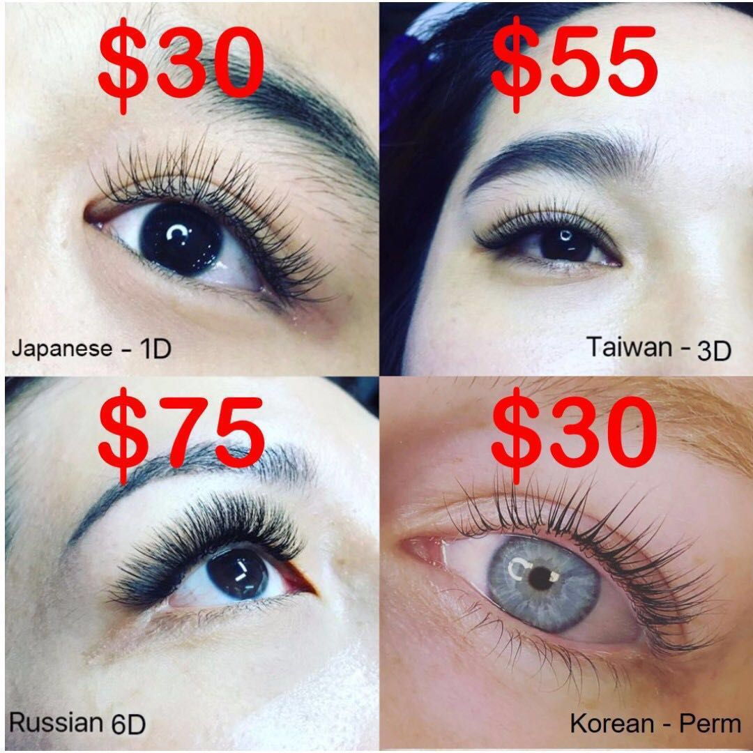 f67bc1c6bb7 Eyelash Extensions (SammyHouse), Health & Beauty, Hair Care on Carousell