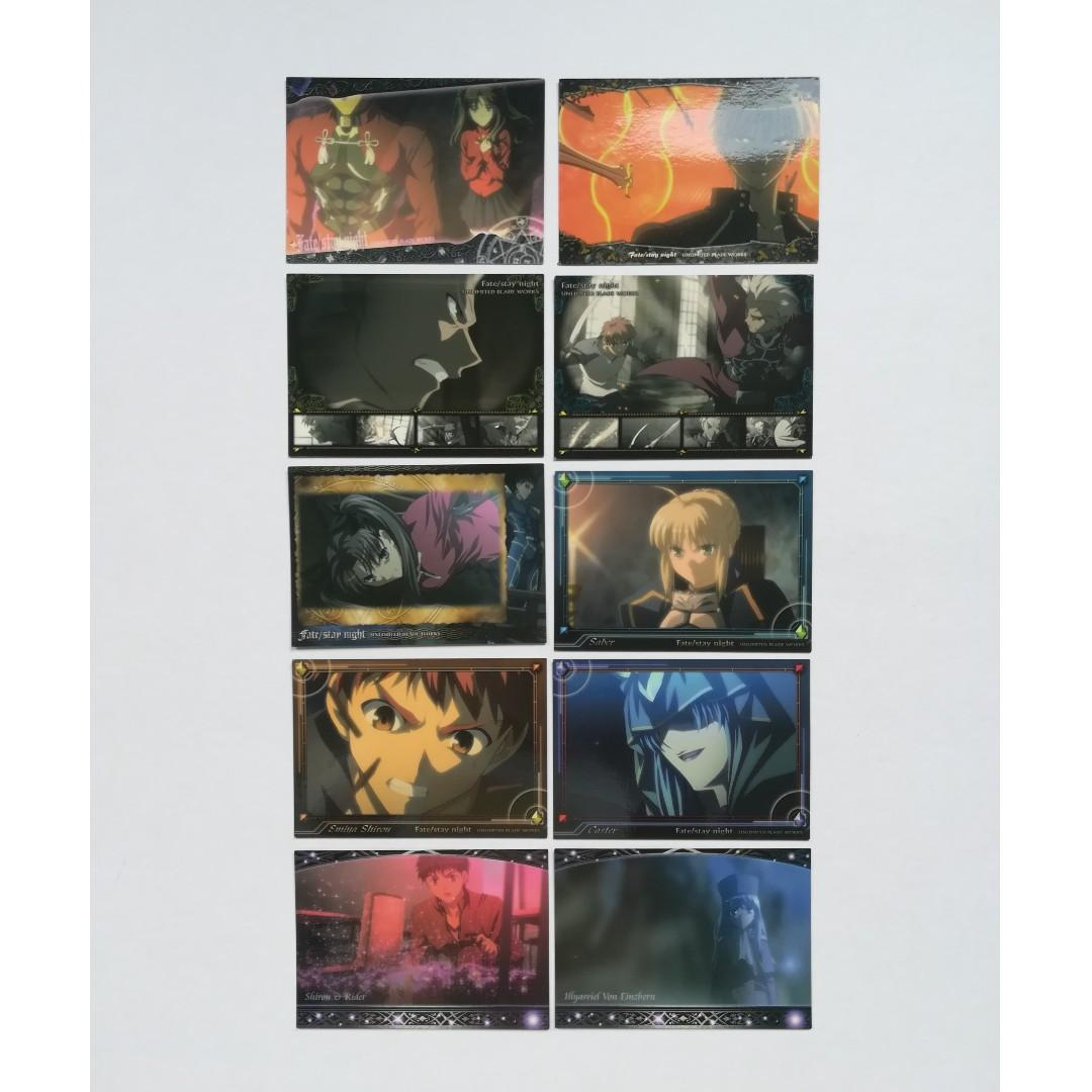 Fate / stay night UNLIMITED BLADE WORKS - Trading Cards / Character Cards
