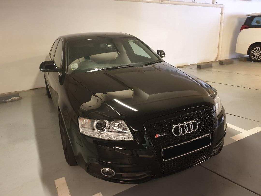 For sale - Audi A6 Sline 3 litres v6 engine twin exhaust