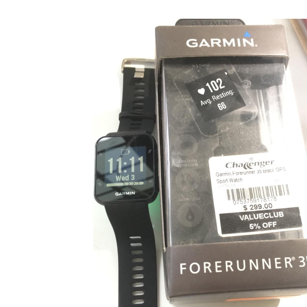 13c249539 Garmin Forerunner 35, Electronics, Others on Carousell