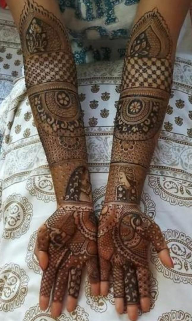 Henna (indian traditional)