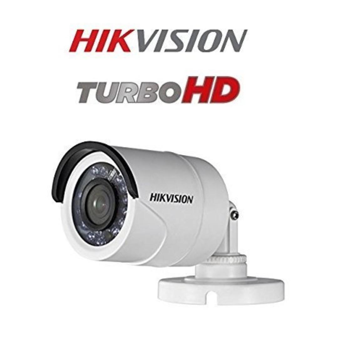 HIK Vision DS-2CE 16D0T-IRF 2MP Turbo HD 1080P IR Indoor / Outdoor Bullet Camera
