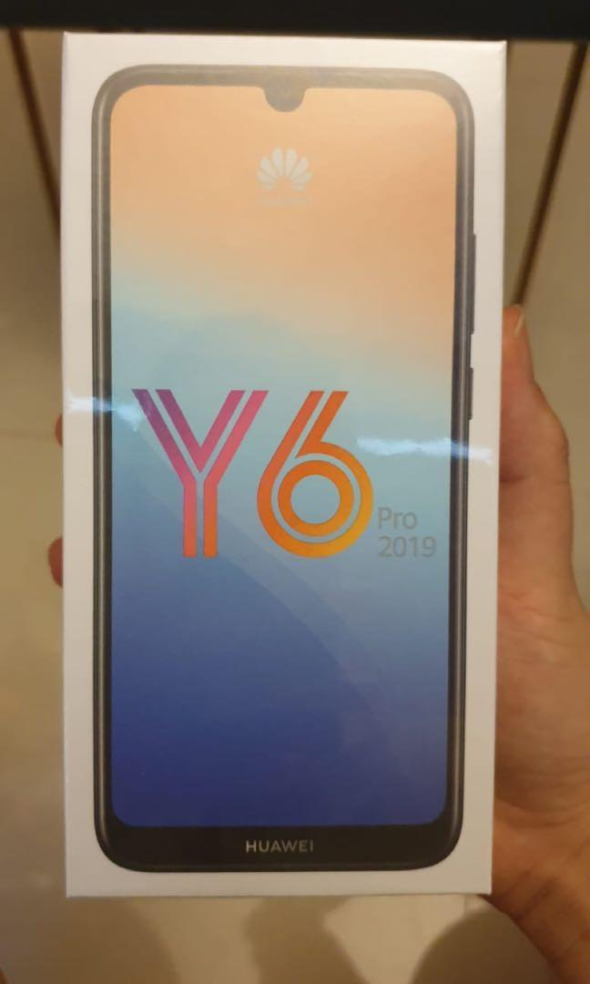 Huawei Y6 Pro 2019 (sealed) free delivery, Mobile Phones