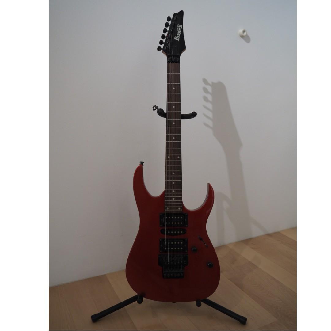 Ibanez GRG270 Electric Guitar with Floating Bridge, Music