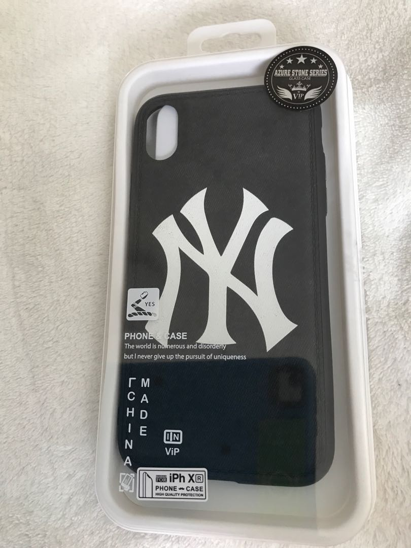 best website 12ae3 8e7a6 IPhone XR New York Yankees phone case