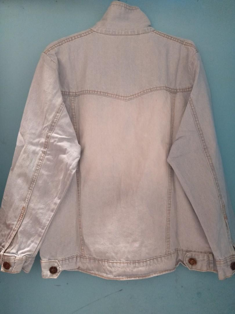 Jaket Jeans Oversize Divia