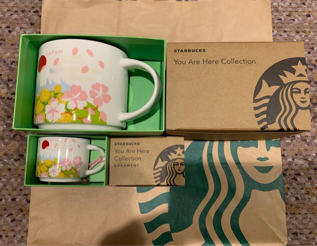 Japan Starbucks 2019 You Are Here Spring Mugs Everything
