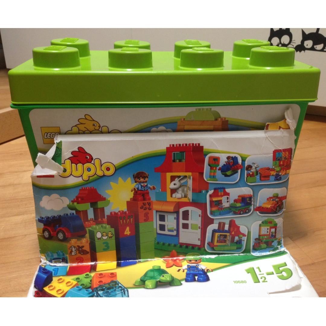 Lego Duplo Deluxe Box of Fun (10580)