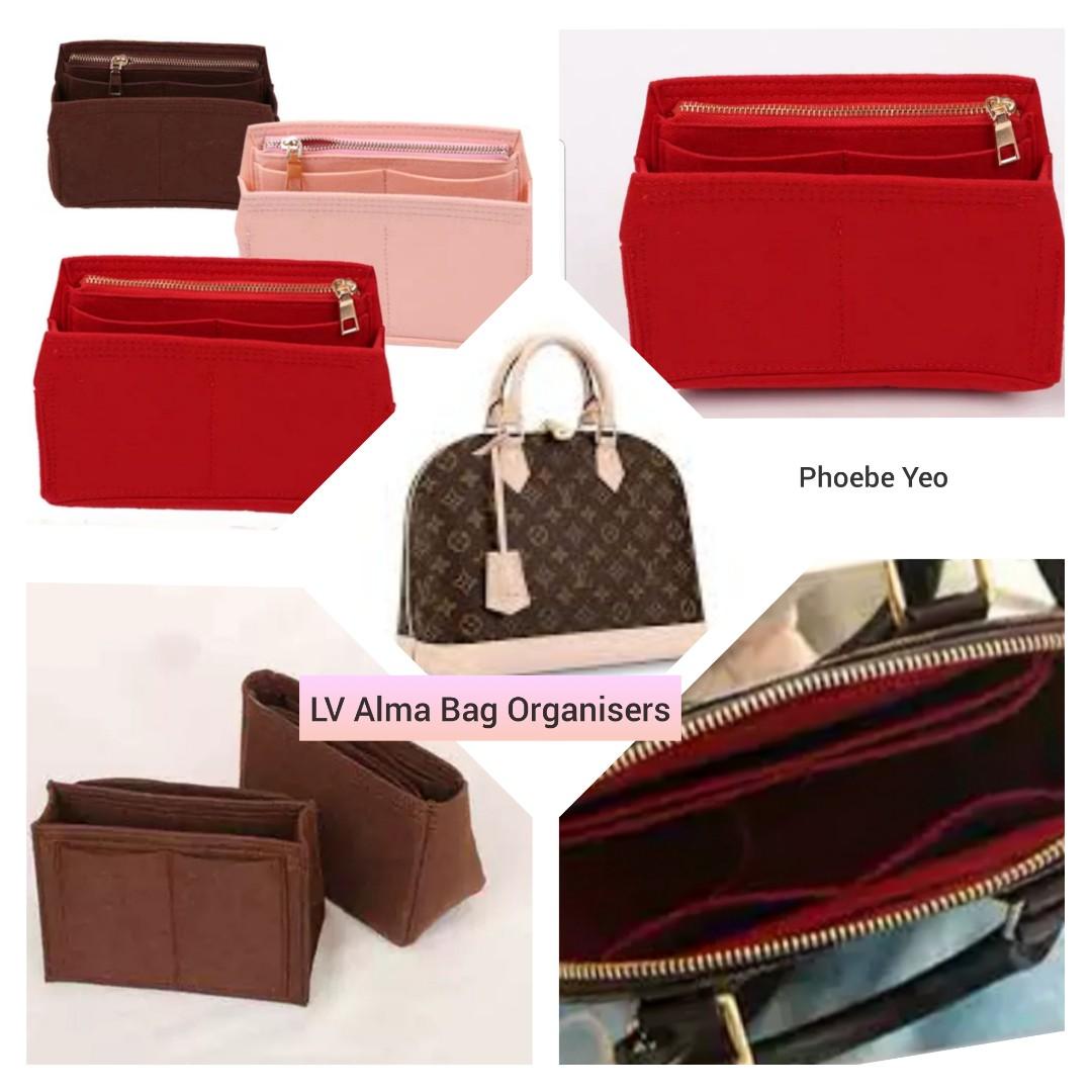 1382bbc321d9 LV Alma Bag Organisers