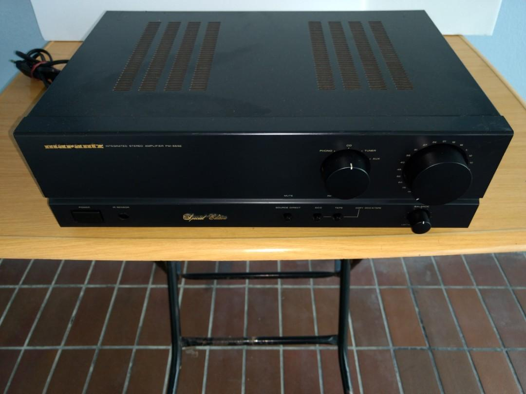 Marantz Stereo Amplifier model Pm-55SE-, Electronics, Audio