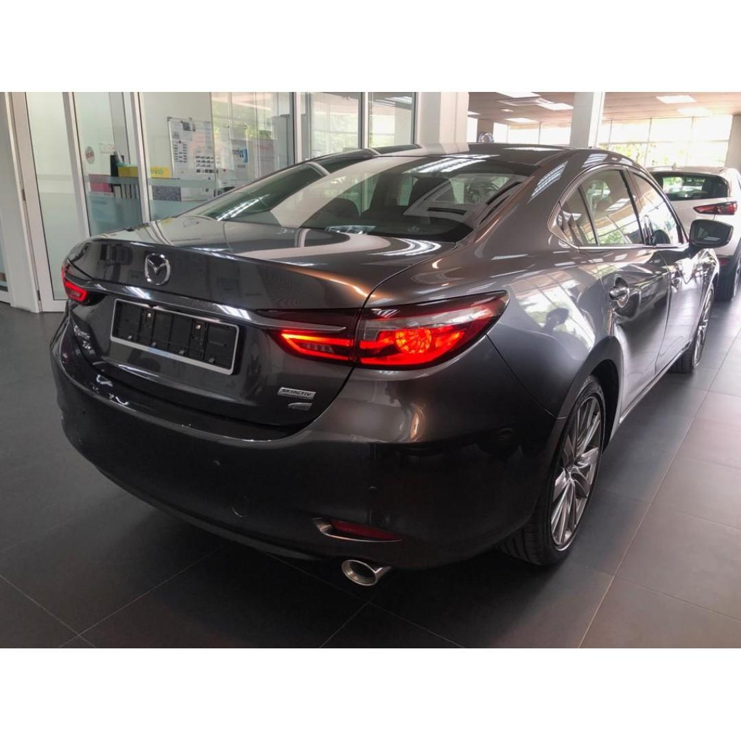 MAZDA 6 SKYACTIC (CBU) FULLY IMPORT JAPAN (SUPER PROMOTION/HIGH REBATE/LOW INTEREST RATE) CALL FOR BOOKING TODAY 016-3385261