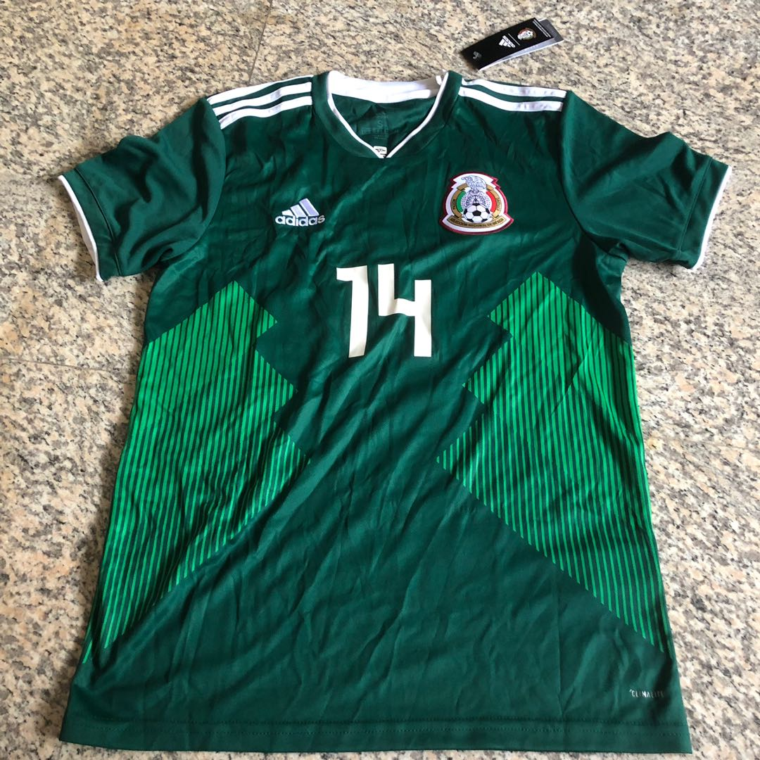 6a377ff5aa9 Mexico World Cup 2018 Home Jersey, Sports, Sports Apparel on Carousell