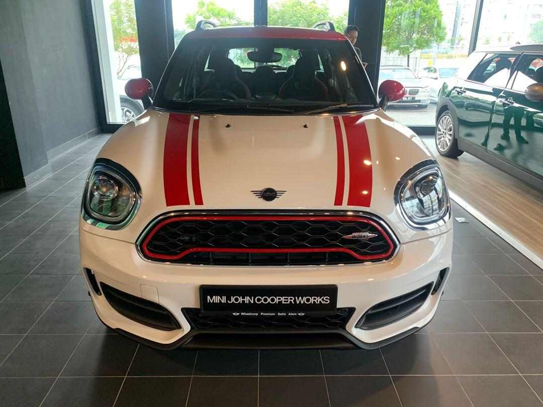 Mini Cooper JCW full package with panoramic Roof 2018
