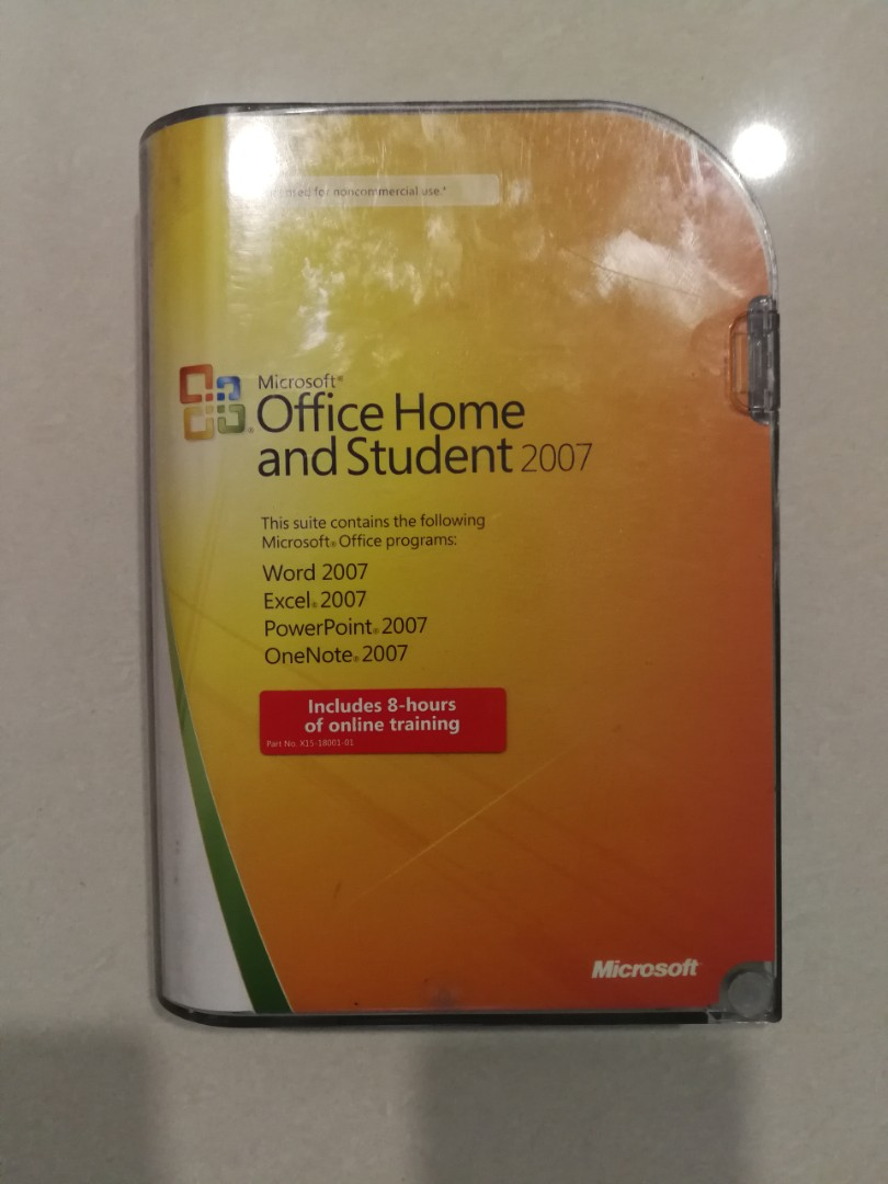 MS Office Home and Student 2007