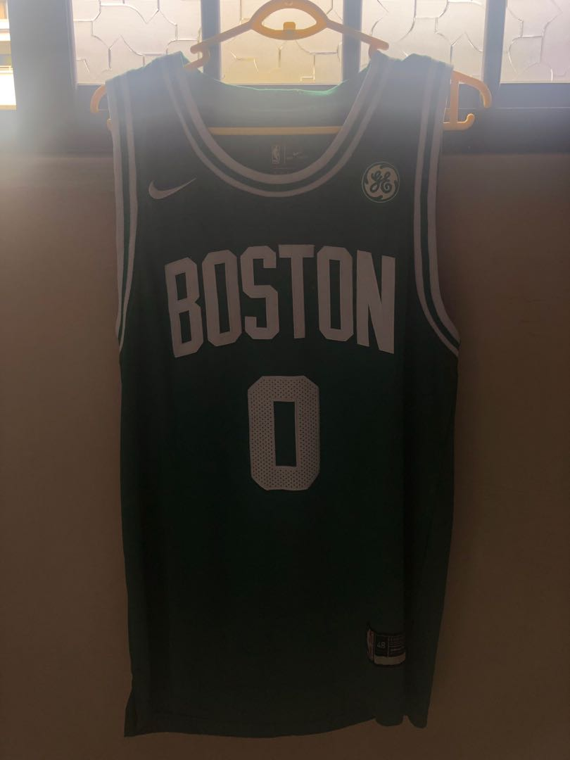 promo code 8e71b 39049 NBA Jayson Tatum Jersey, Sports, Sports Apparel on Carousell