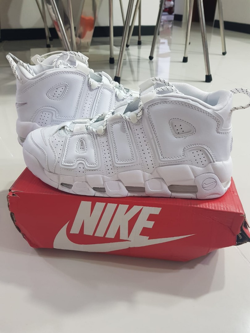 3456aeb565 Nike Air More Uptempo (Customer's pair for viewing), Men's Fashion ...