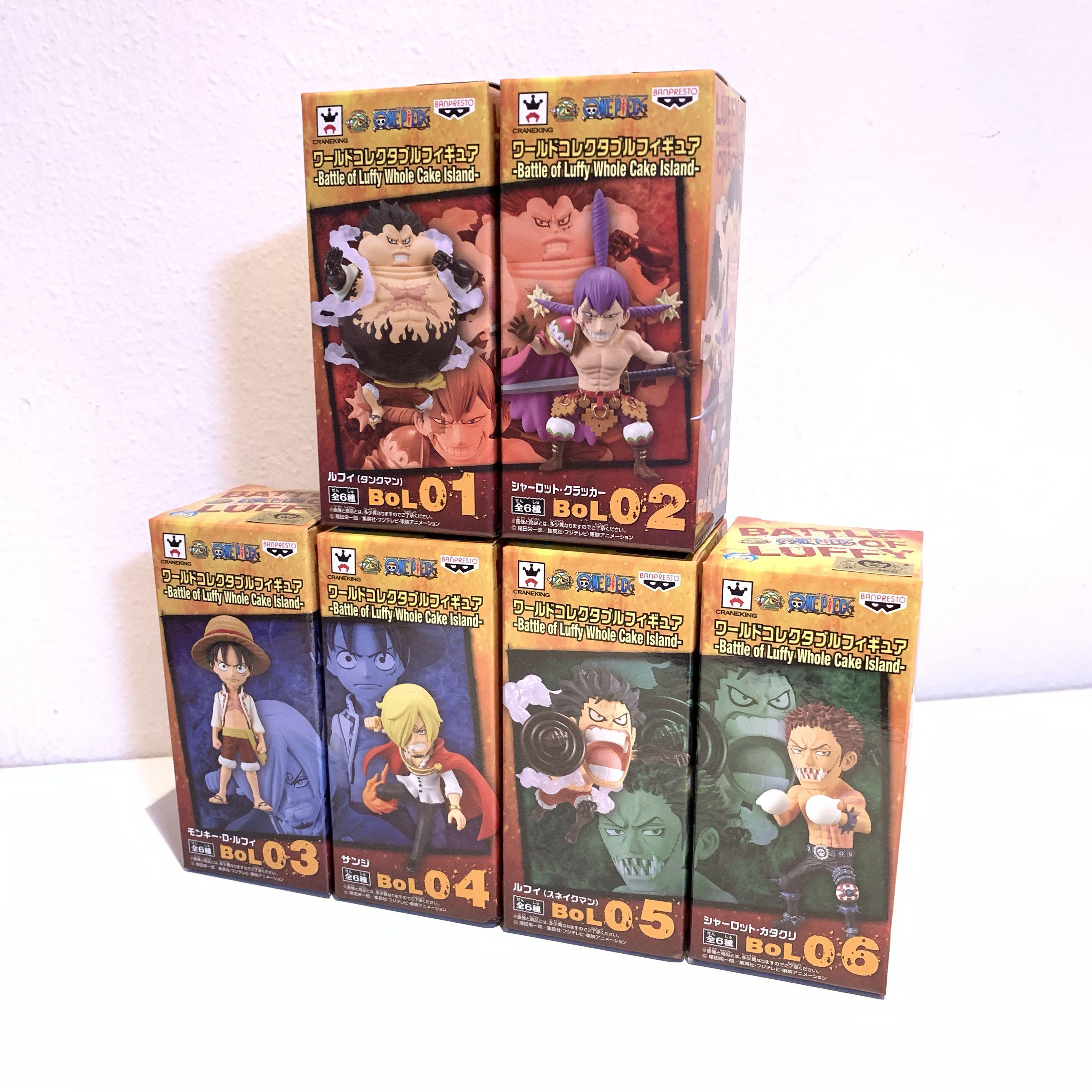 One Piece World Collectable Figure Wcf Battle Of Luffy Whole Cake