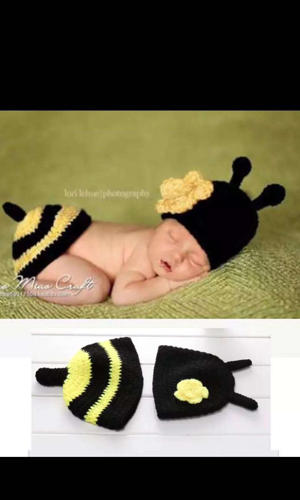 38deaced2 PO) Unisex Newborn Baby Photoshoot Props or Clothes with Animal ...