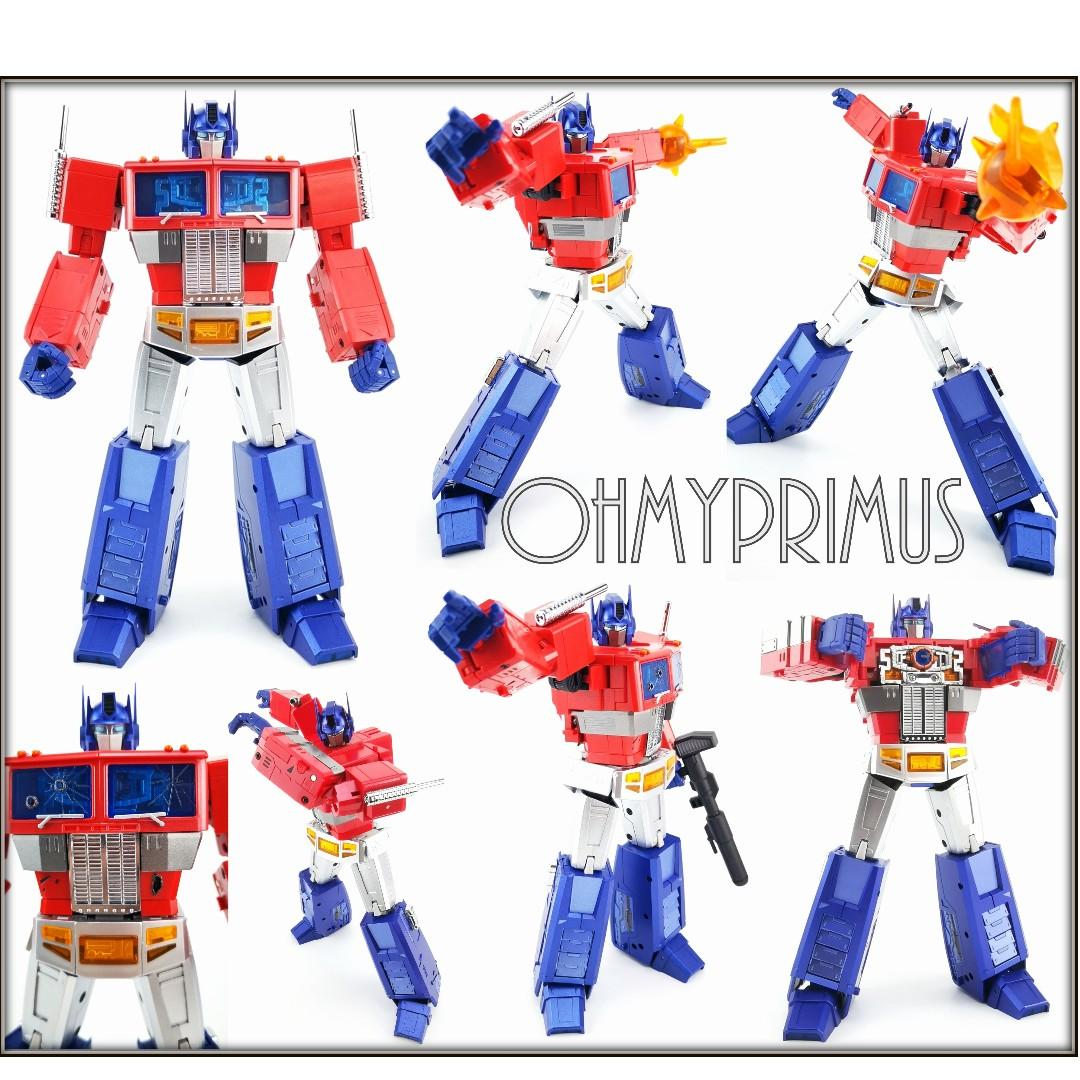 V2 Blue Windows for Magic Square MS-TOYS MS-01 Light of Freedom Optimus Prime