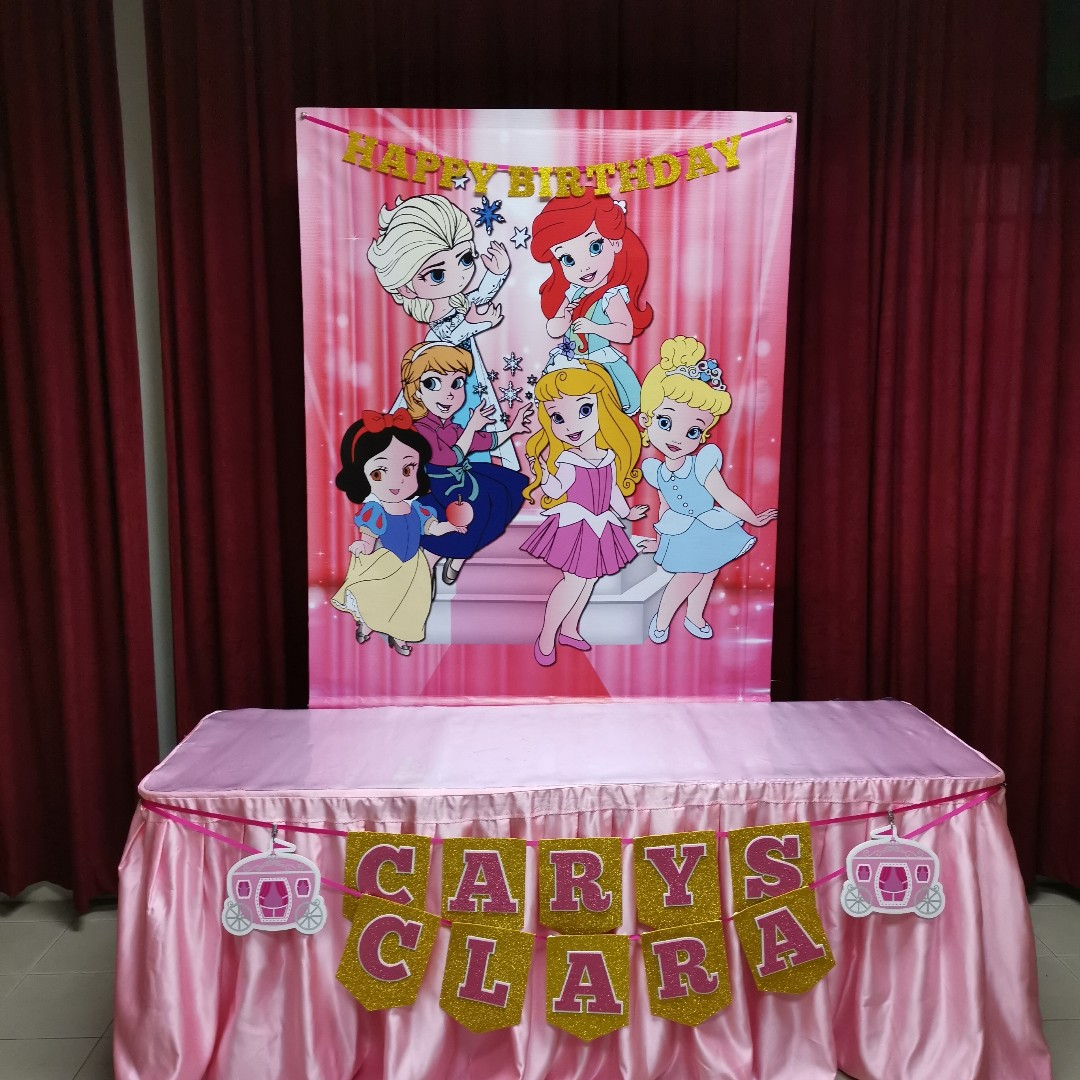 Princess Theme Party Decoration For Rent From $63 80