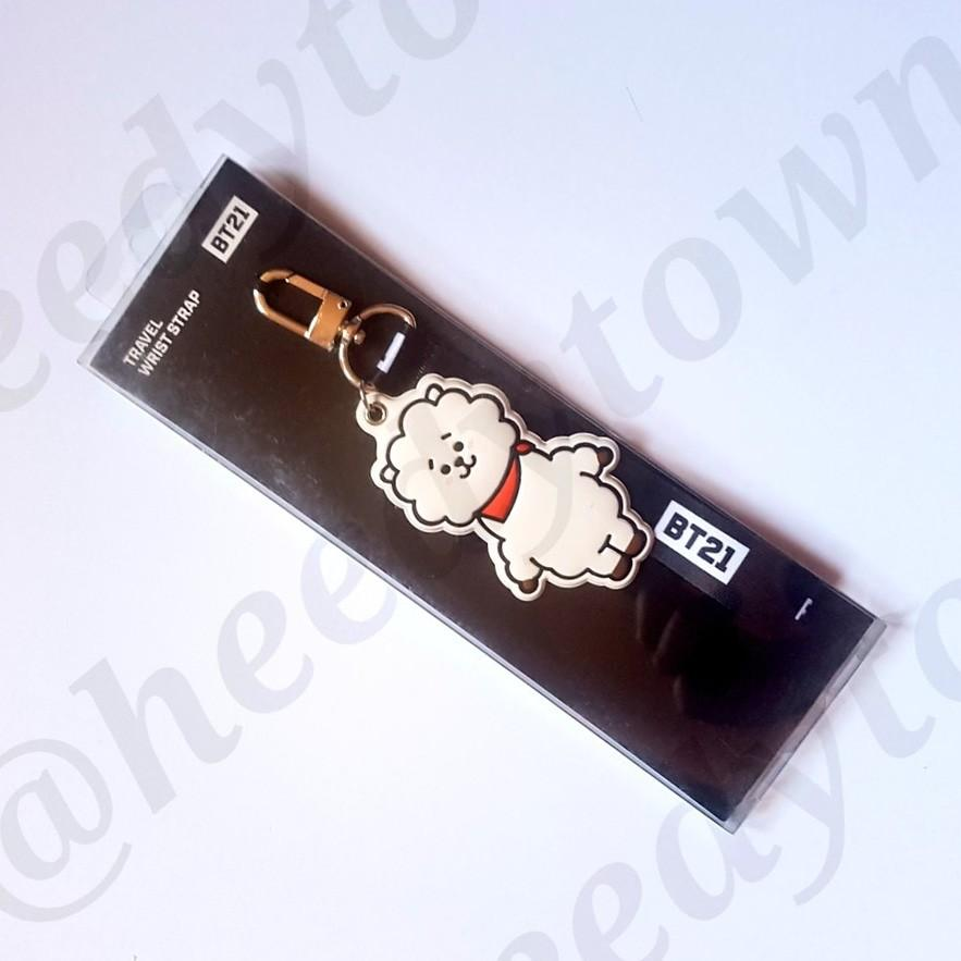 (🔥 READY STOCK CLEARANCE SALE) OFFICIAL BT21 TRAVEL WRIST STRAP (RJ)