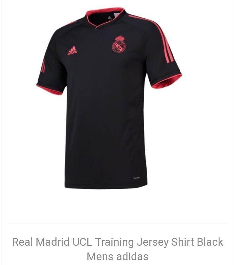 on sale f9c60 18b60 Real Madrid black/red Ucl kit, Sports, Sports Apparel on ...