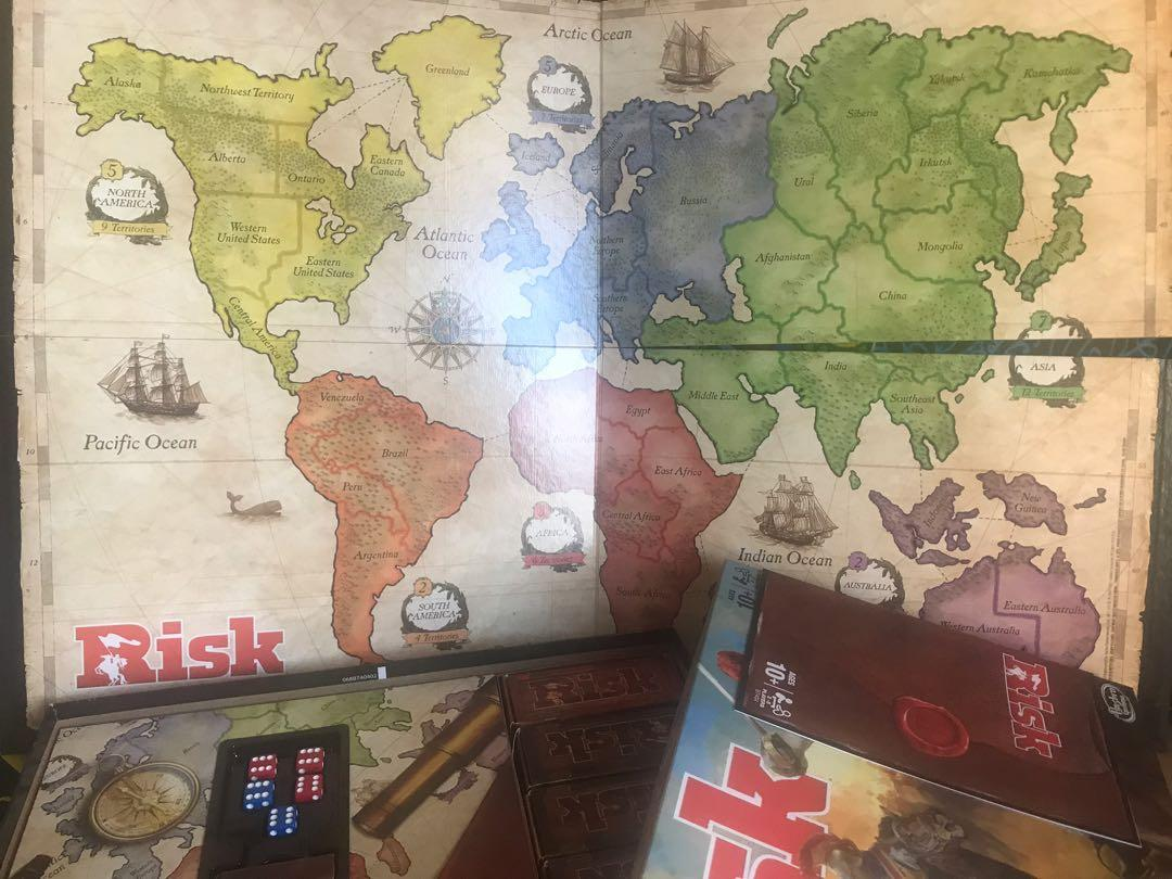 Risk the game of strategic conguest