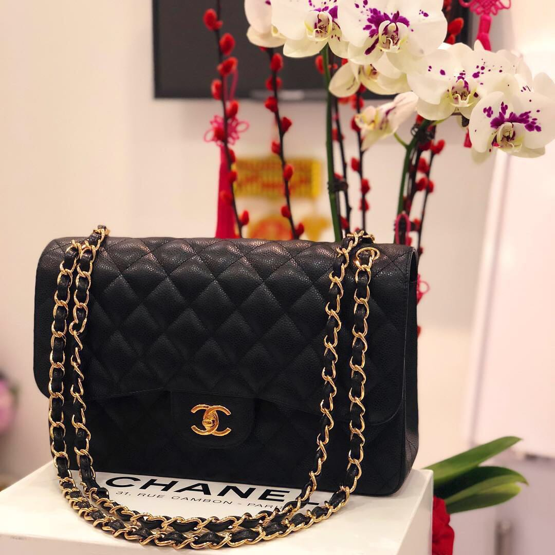 61c6e5453180 ✖️SOLD!✖ Superb Deal. Save 3k! Chanel Jumbo Double Flap in ...