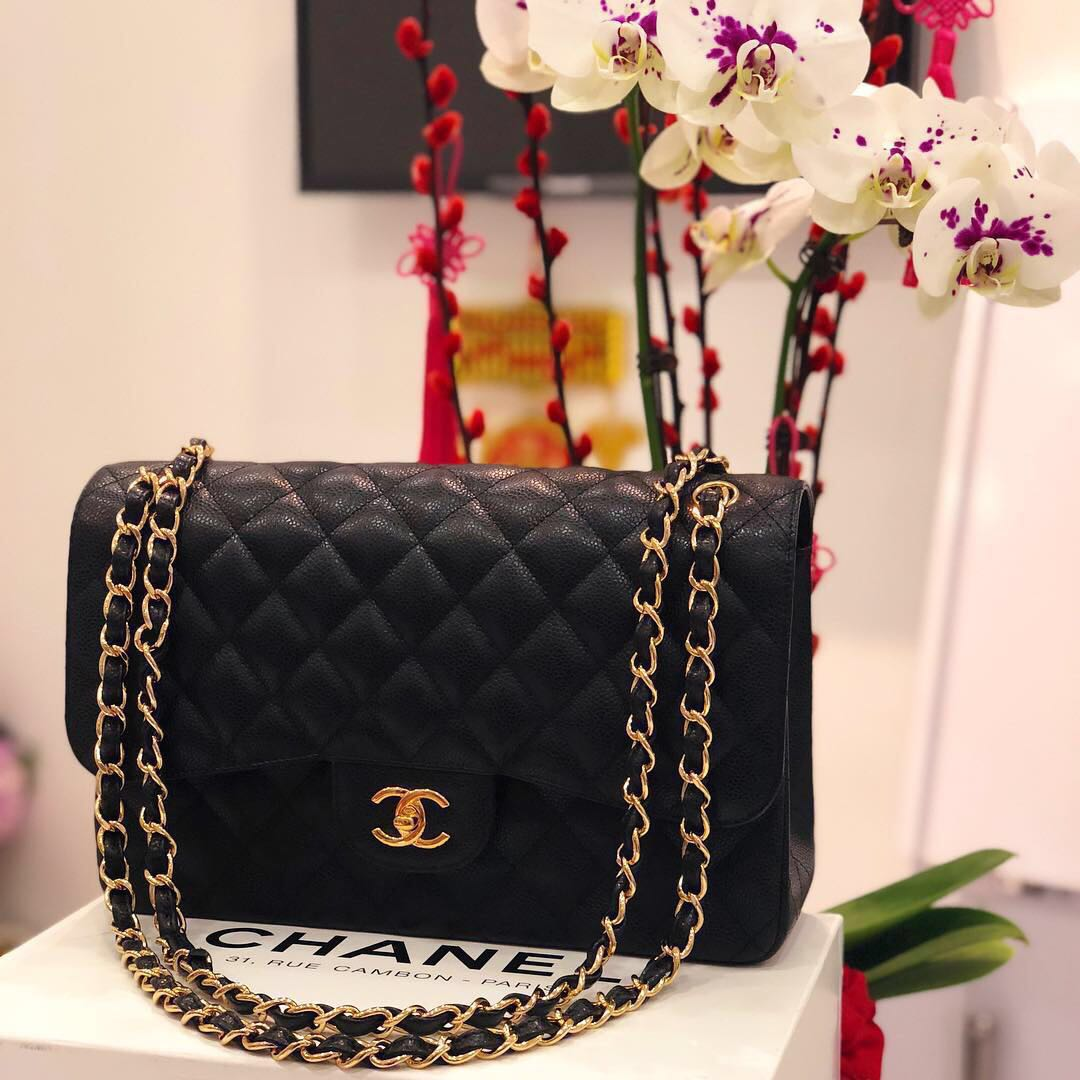 b42a9bf9f1c2 ✖️SOLD✖ Superb Deal. Save 3k! Chanel Jumbo Double Flap in Black ...