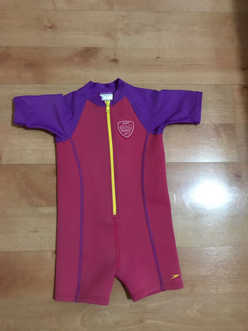 d7495bfa0a EndgameYourExcess Speedo Thermal Swim Wear, Babies & Kids, Girls ...