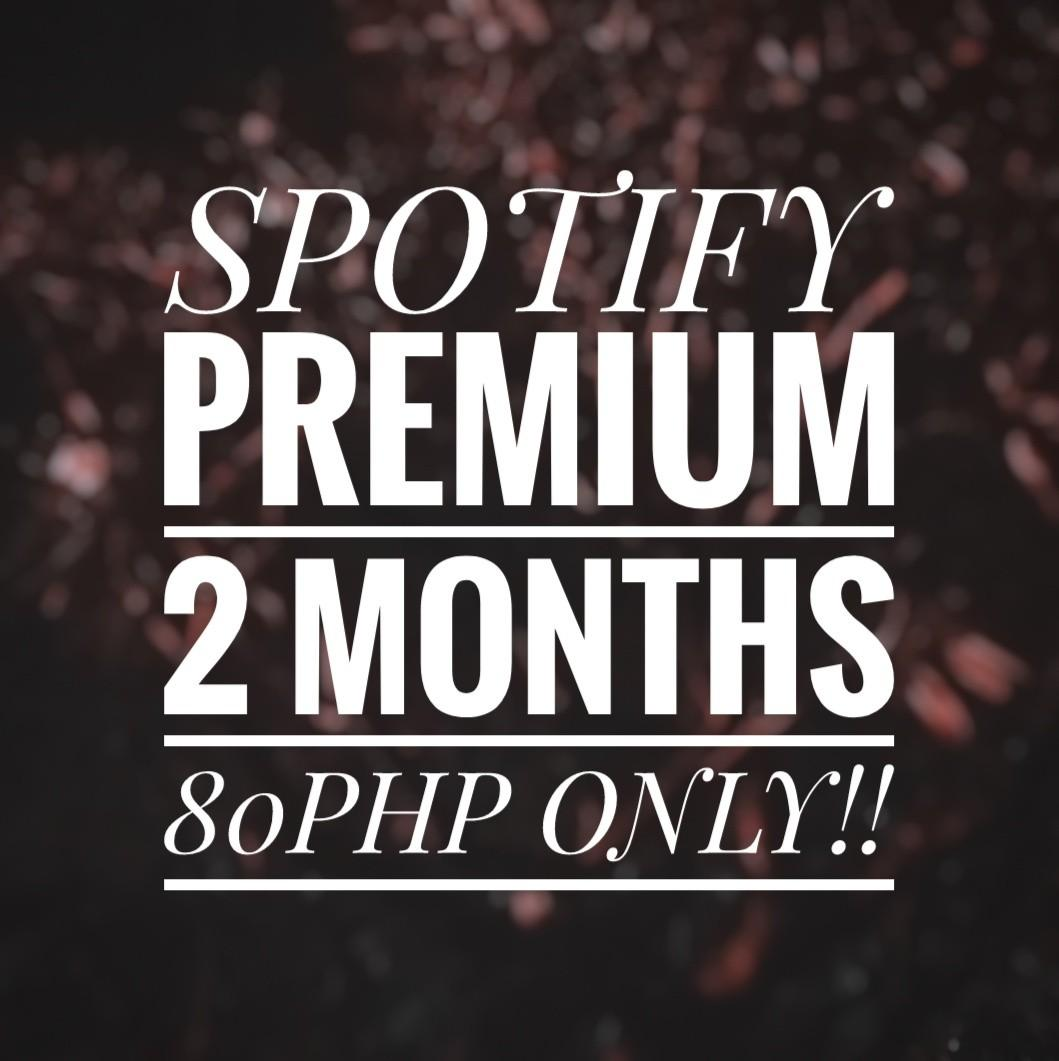 SPOTIFY PREMIUM 2 MONTHS, Tickets/Vouchers, Gift Cards & Vouchers on