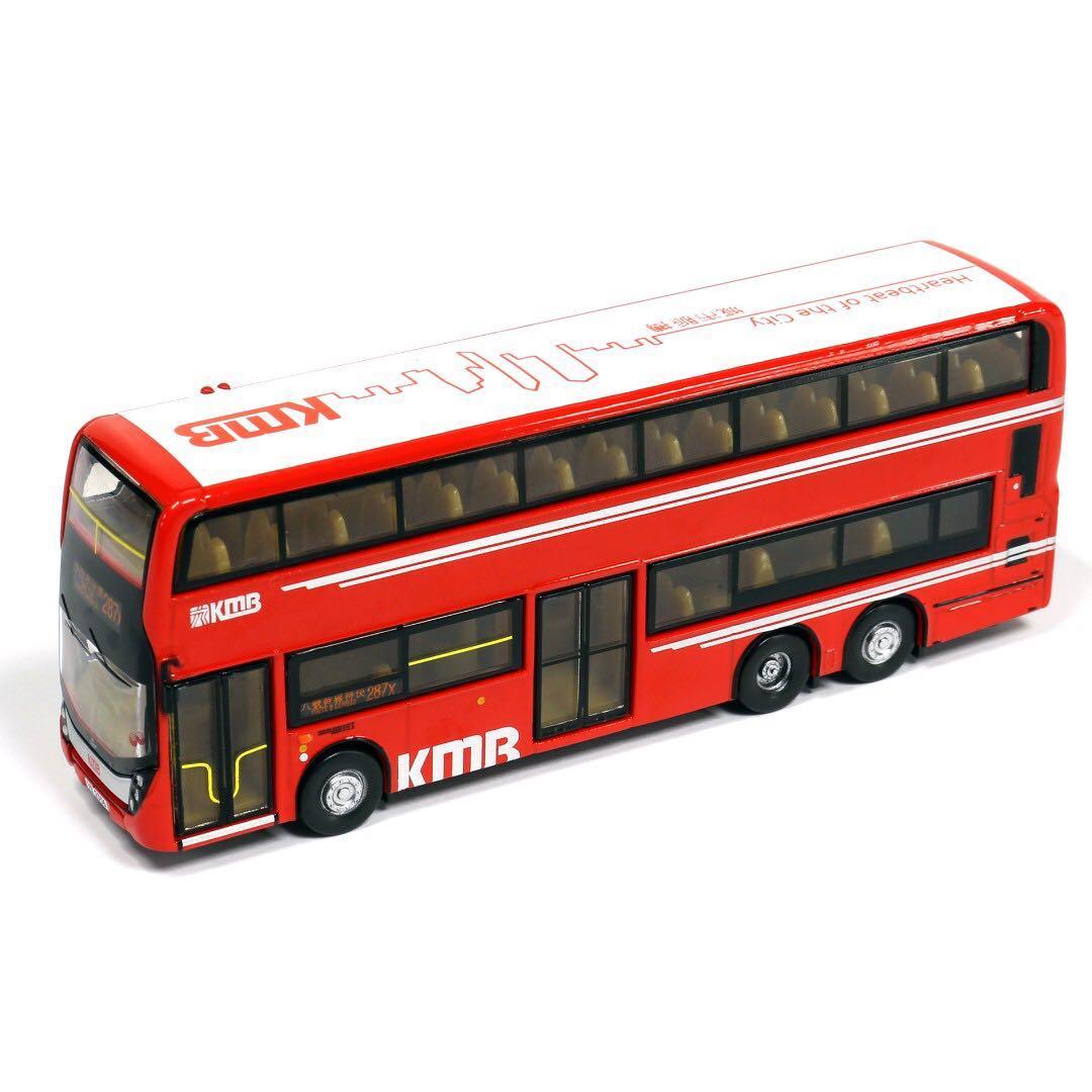 TINY HONG KONG CITY 99 KMB ADL Enviro 500 Bus RED 287x DIECAST CAR NEW 1//110