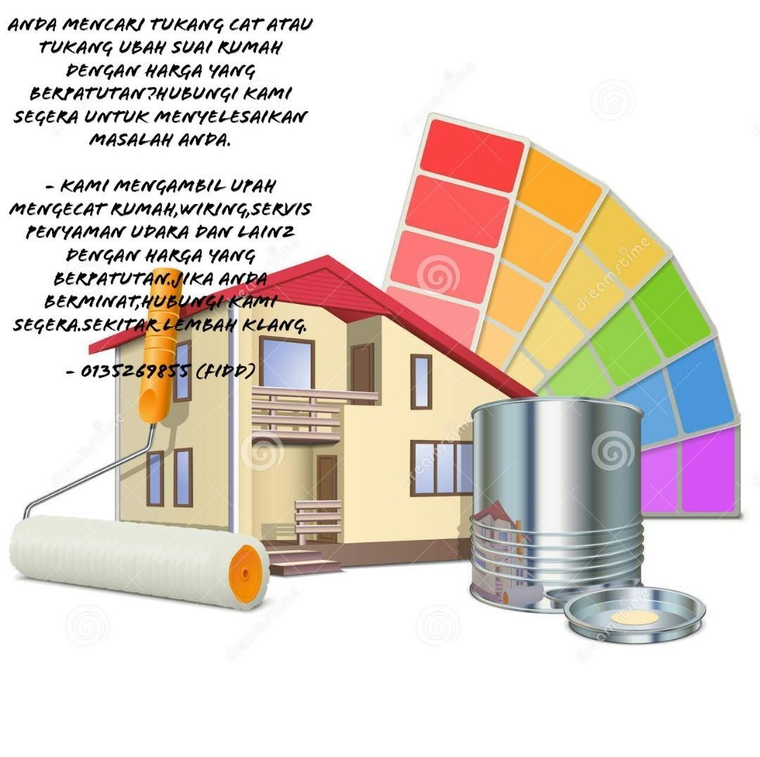 tukang cat dan servis rumah