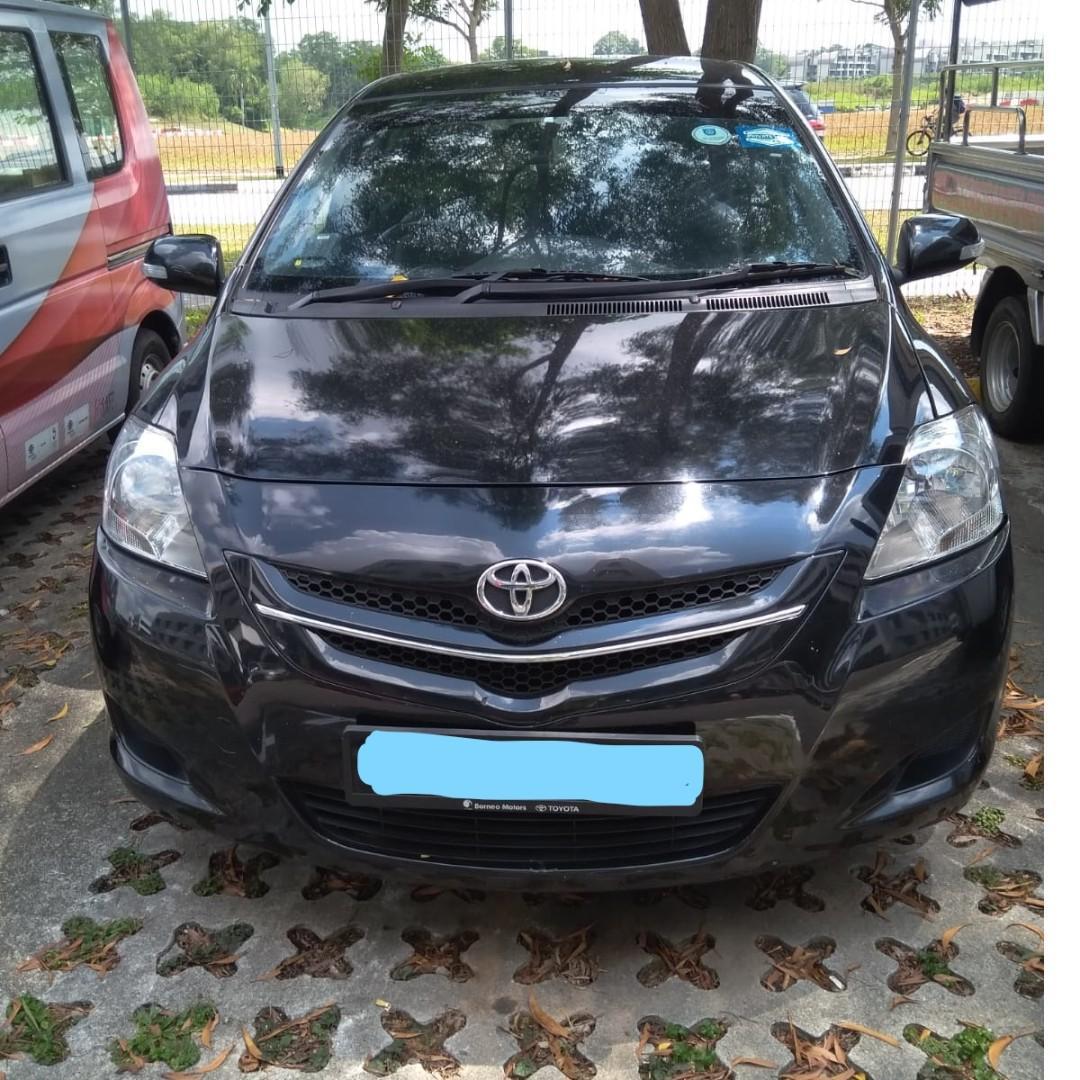 Weekly/Monthly Toyota Vios ( Personal-Grab-Gojek )