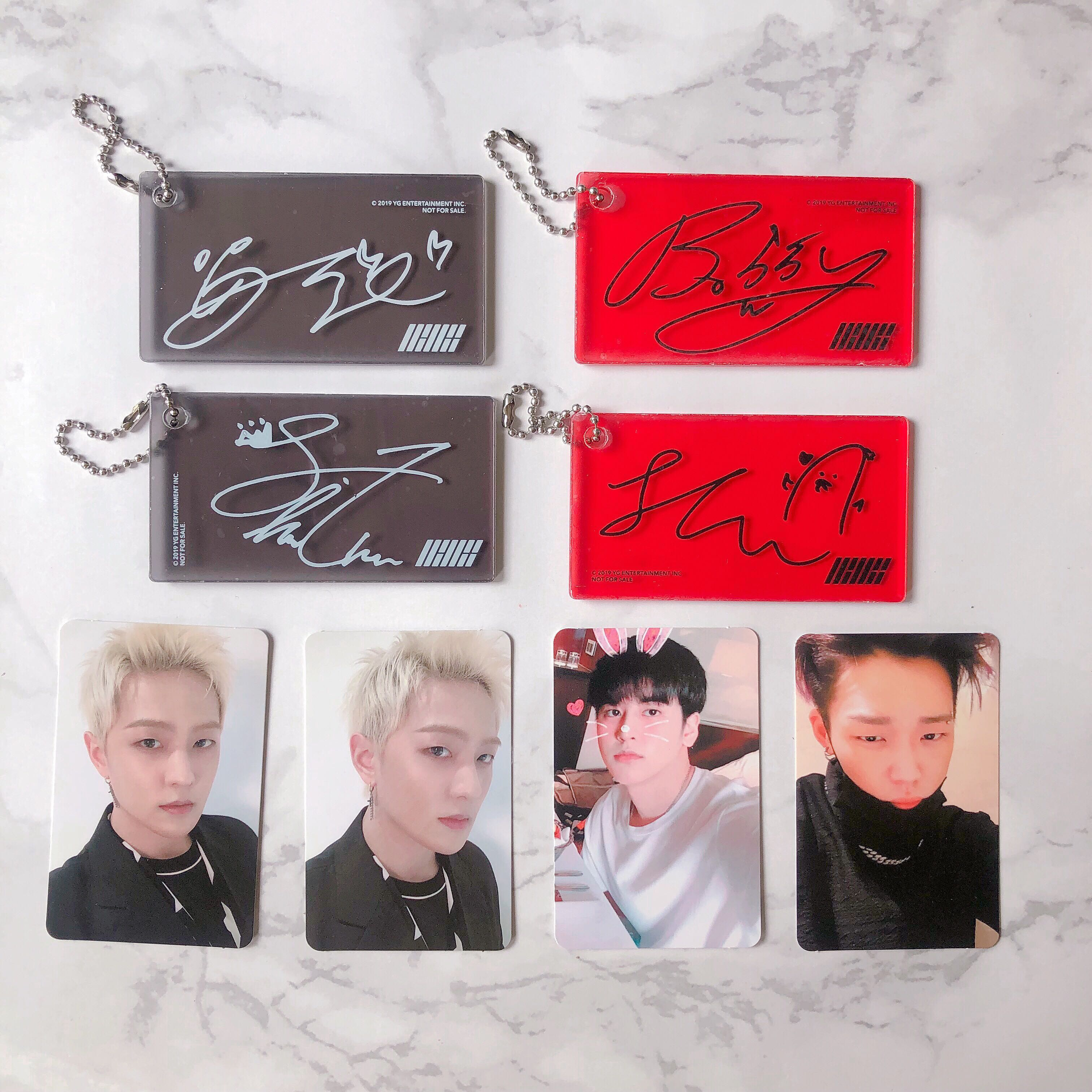 WTT/WTS] IKON NEW KIDS REPACKAGE PHOTOCARD AND KEYRING