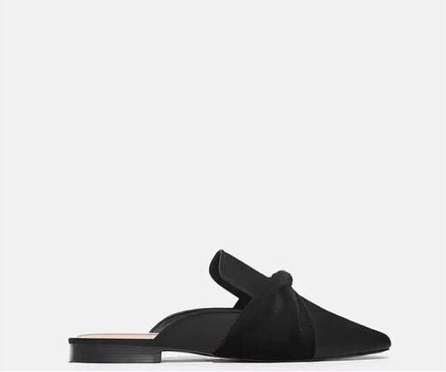 Zara Suede Loafers