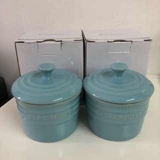 *SALE!* Le Creuset Spice Jar Satin Blue LC SB 調味罐