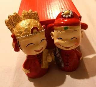 Traditional Wedding Couple Figurine