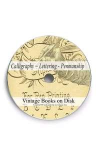 CD EBook Compilation - Vintage Calligraphy Lettering & Typography ebook