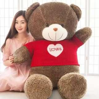 SKN 1METRE GIANT TEDDY BEAR